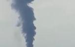 یک نفتکش در نزدیکی شارجه آتش گرفت + فیلم