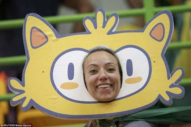 تماشاگران رنگارنگ المپیک ریو+عکس