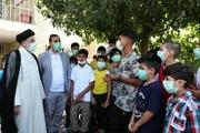 تصاویر/ دیدار ابراهیم رئیسی با کودکان کار