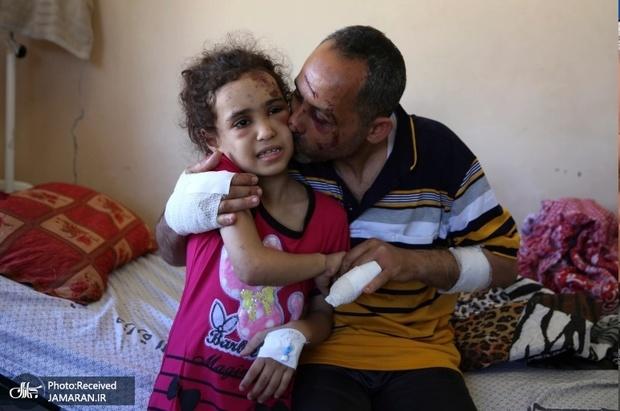آسیب های روانی کودکان غزه در سایه جنگ