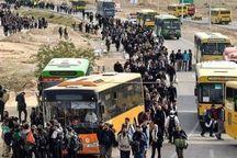 اعزام کاروان اتوبوسرانی تبریز به مرز مهران
