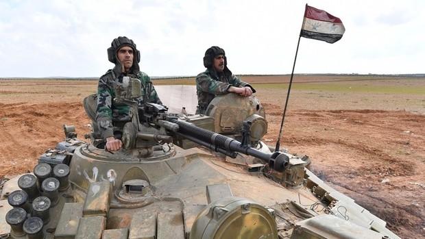کشته شدن شماری از تروریست های خارجی در شمال سوریه