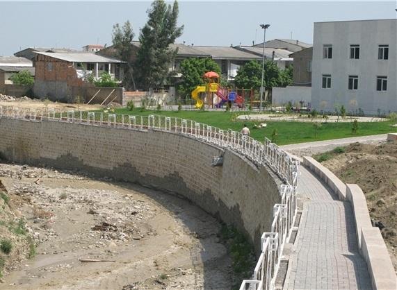 دیواره سازی و تثبیت بستر رودخانه ها، عملیات ضروری در استان گلستان