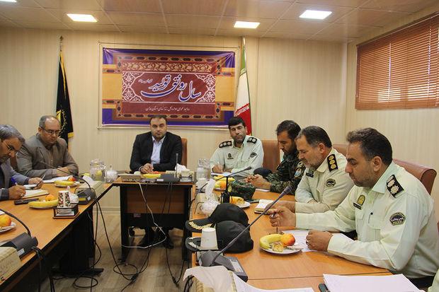 رزمایش ضد اغتشاش در زندان های همدان برگزار می شود