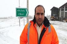 110 راهدار در محورهای ارتباطی جنوب کرمان مستقر هستند