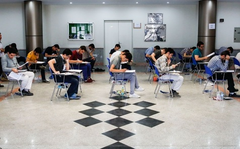رقابت داوطلبان در آزمون دکتری تخصصی پزشکی آغاز شد