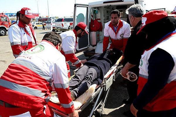 امداد رسانی به 6 مصدوم در حوادث رانندگی استان قزوین