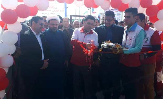 ساختمان نوساز هلال احمر دیلم بوشهر افتتاح شد