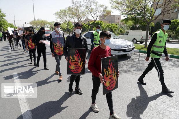 تصاویر/ متهم گردانی در مشهد!