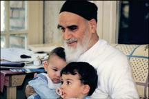 تصویری از امام و نوادگان