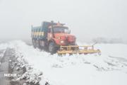 راه ارتباطی ۳ روستا در شهرستان هشترود بر اثر بارش برف مسدود است