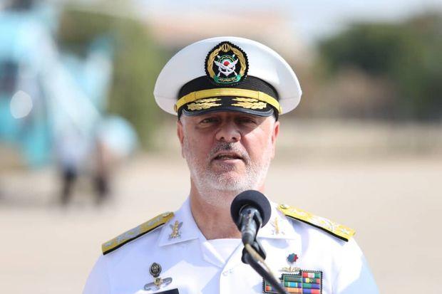 نیروی دریایی ارتش هر لحظه آماده حرکت به سمت اقیانوس اطلس است