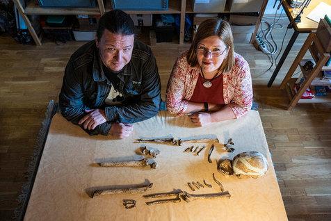 کشف اسکلت یک زن ماقبلتاریخ در آلمان