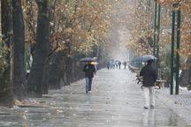 آغاز بارشهای پاییزی در مناطق مختلف استان زنجان