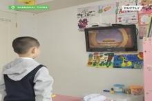 آموزش از راه دور به دانش آموزان چینی پس از تعطیلی مدارس در پی شیوع ویروس کرونا