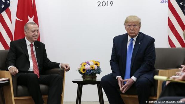 آیا اردوغان سفر خود به واشنگتن و دیدار با ترامپ را لغو می کند؟