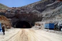 230 متر حفاری تونل دوم راه کربلا پایان یافت
