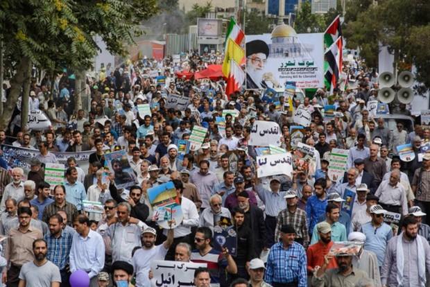روز قدس نفرت از رژیم صهیونیستی را ثابت می کند