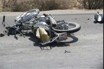 تصادف موتورسیکلت با خودرو در مراغه یک کشته برجا گذاشت