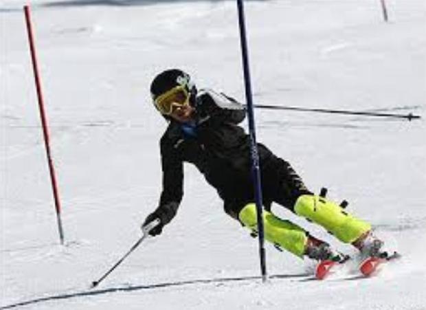 اسکی باز خراسانی مدال المپیاد کشوری را کسب کرد