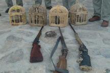 2 شکارچی متخلف در شهر خنجین فراهان دستگیر شدند