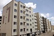کلنگ ١١٢٠ واحد مسکونی اقدام ملی بر زمین زده شد