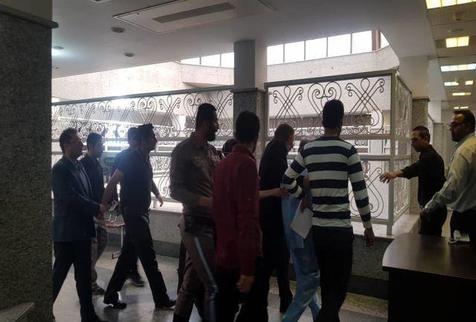 محمدعلی نجفی به دادسرا رفت/ عکس