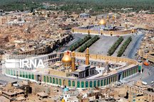 ۶۰۳ ستون برای صحن حضرت زهرا(س) در استان مرکزی ساخته شد