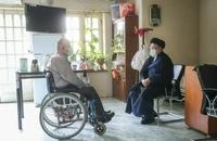 حضور رییسی در آسایشگاه جانبازان امام خمینی (ره) (7)