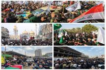 پاسخ صدها هزار برادر عراقی به پمپئوی دلقک! + عکس
