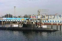 پیشرفته ترین زیردریایی ایران به نداجا پیوست شد