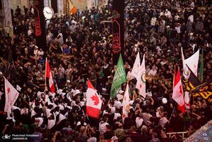 حضور ملیت های مختلف در پیاده روی اربعین