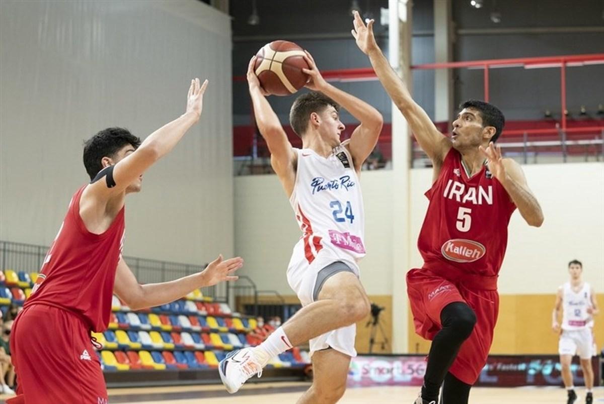 تیم ملی بسکتبال جوانان در جایگاه دوازدهم ایستاد