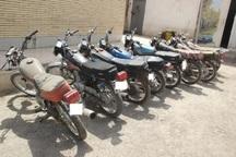 باند سارقان موتور سیکلت در تاکستان متلاشی شد