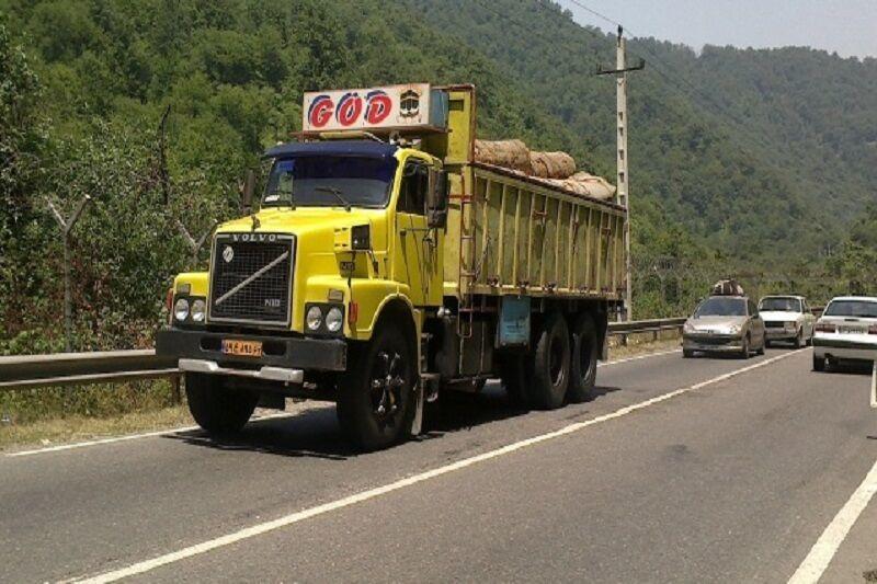 بیش از سه میلیون تن کالا توسط کامیونداران اردبیلی جابجا شد