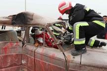مانور امداد و نجات جاده ای در بجنورد برگزار می شود