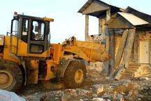 21 باب خانه غیر مجاز در نور تخریب شد
