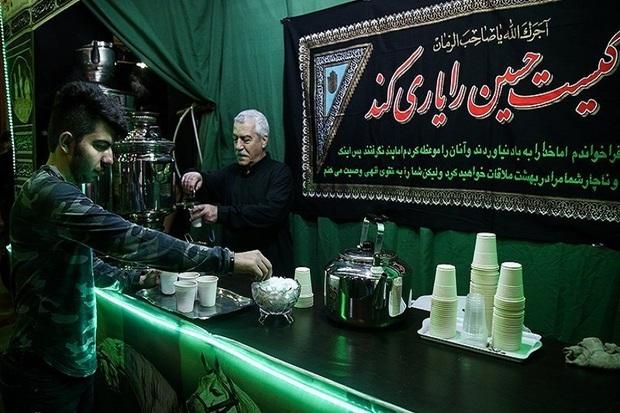 شکوه عشق و اردات به امام حسین (ع) در بازار آستارا