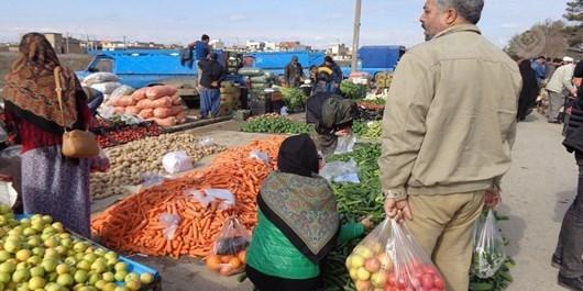 آغاز فعالیت جمعه بازار گنبدکاووس پس از سه ماه وقفه