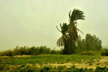 سرعت وزش باد در شمال سیستان و بلوچستان 63 کیلومتر بر ساعت