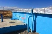 بهره برداری از 3پروژه توسعه شبکه توزیع آب در جزایر ابوموسی