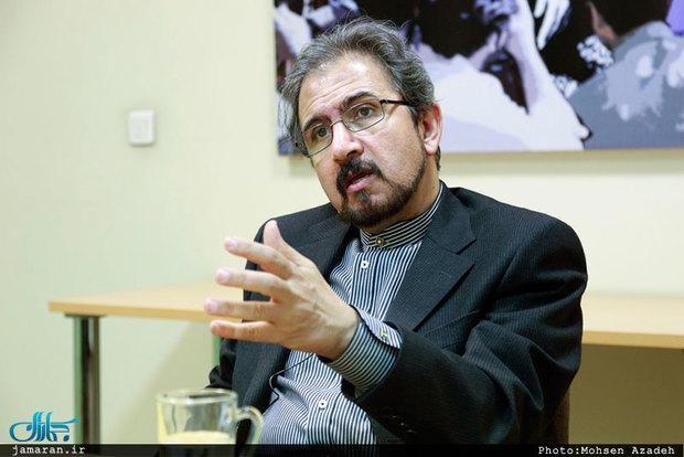بهرام قاسمی: مانعی برای رایزنی ایران و اروپا وجود ندارد