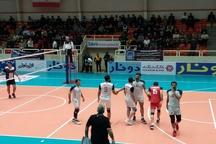 دومین برد متوالی والیبال شهرداری تبریز رقم خورد