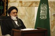 آیت الله سعیدی: آمریکا باید منتظر پاسخ محکم و قاطع باشد