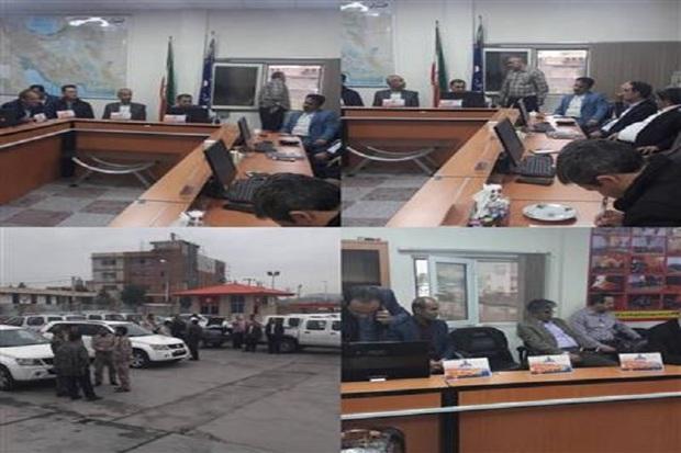 مانور واکنش در شرایط اضطراری در شرکت نفت گچساران برگزار شد