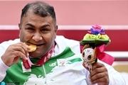 پارالمپیک 2020| حامد امیری: پرتابهایم را دلی و برای مردم انجام دادم/ مدالم را به سردار سلیمانی تقدیم می کنم