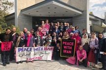هیات صلح آمریکایی: به خاطر تحریمها علیه ایران شرمندهایم