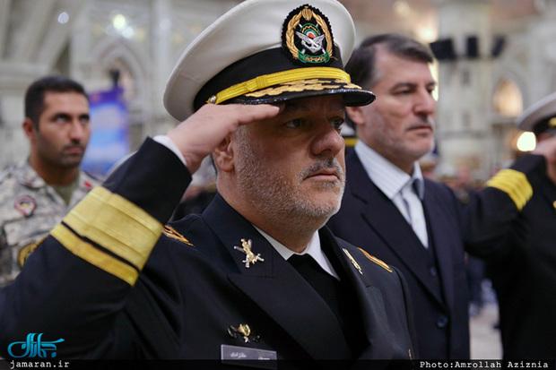 دریادار خانزادی دستیار فرمانده کل ارتش در امور راهبردی شد