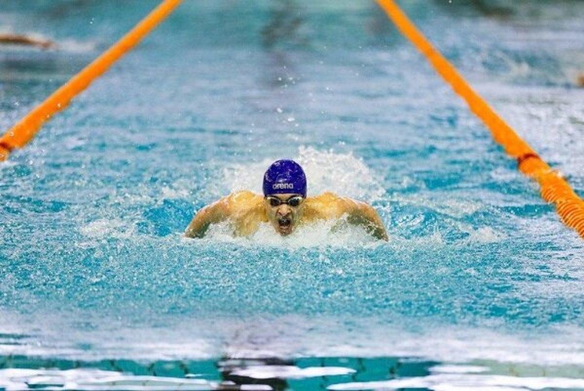 متین بالسینی رکورد ملی ۲۰۰ متر پروانه را شکست