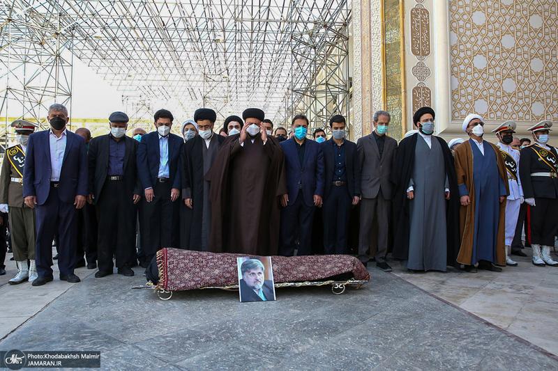 مراسم تشییع و خاکسپاری پیکر سید مرتضی طباطبایی
